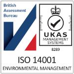 ACS ISO 14001 Environmental Assurance logo