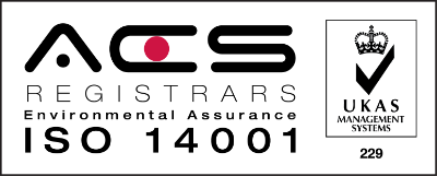 ACS ISO 14001 Environmental Assurance logo