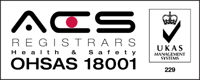ACS ISO 18001 Health and Safety logo